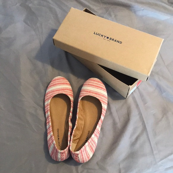 Lucky Brand Shoes - Lucky Brand Ballet Flat Shoes Size 10
